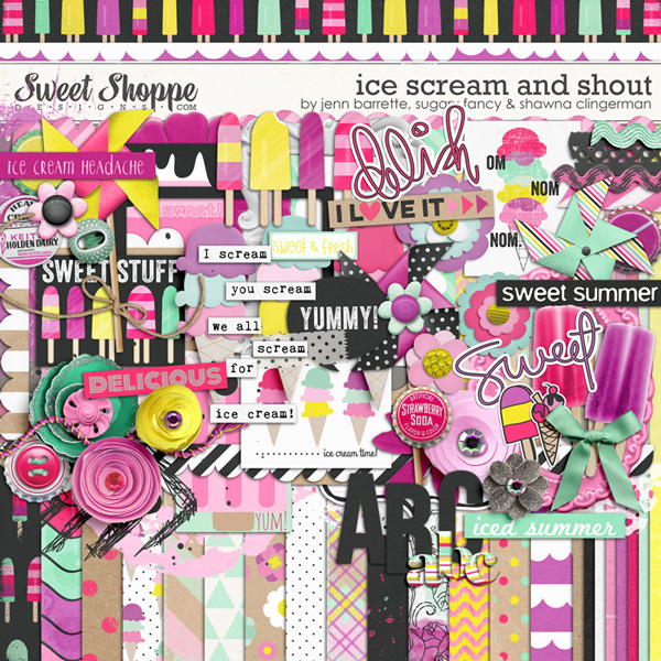 Ice Scream and Shout by Shawna Jenn and Suary Fancy