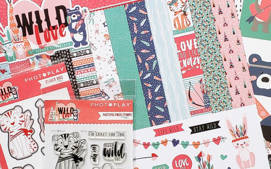 Wild Love with Photo Play Paper!
