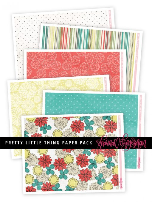 Pretty Little Thing Papers by Shawna Clingerman
