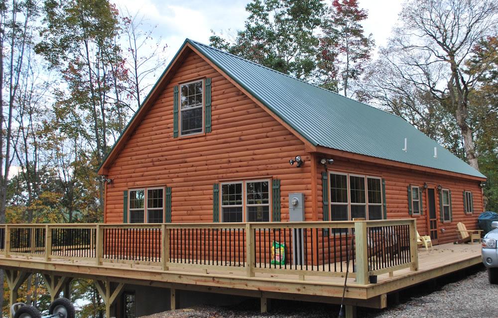 Prefab log homes virginia for Home builders in west virginia