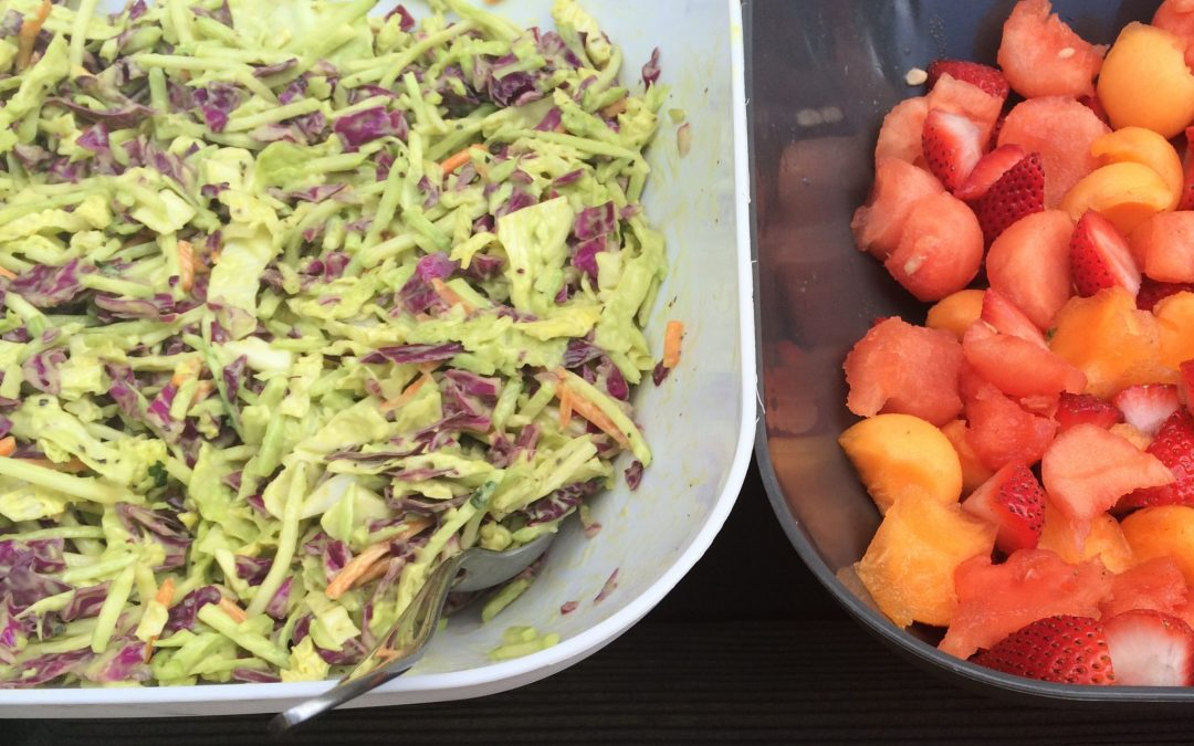 Citrus Avocado Slaw
