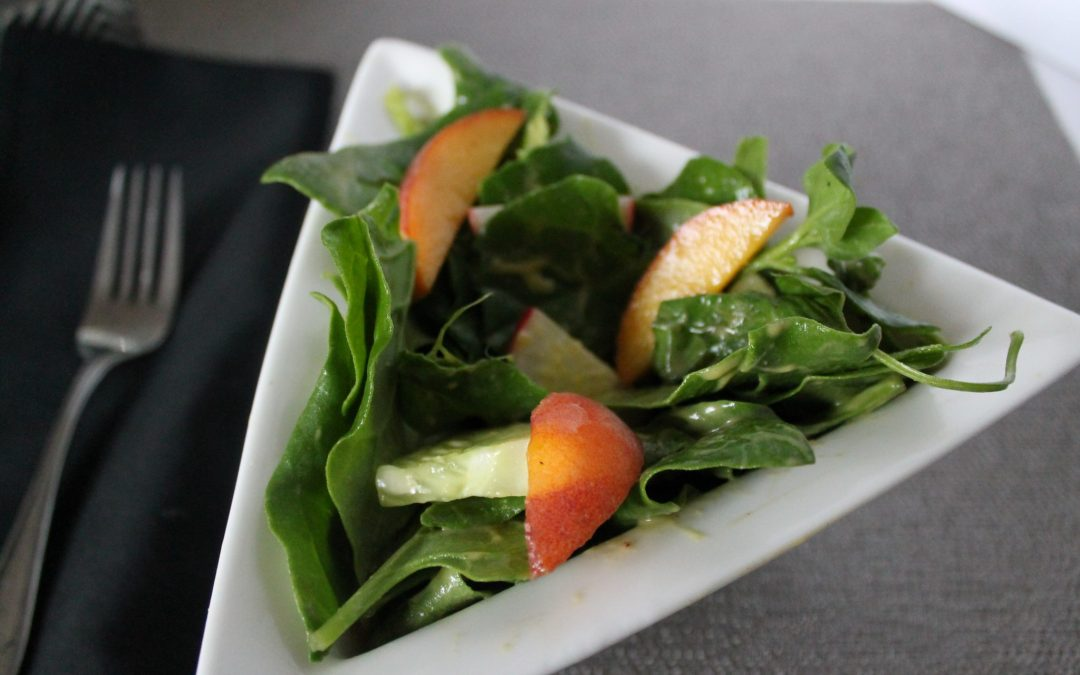 Avocado Peach Salad Dressing