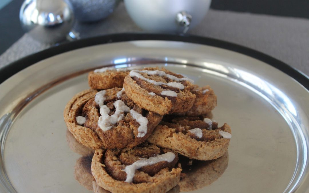 "Cinnamon Roll Cookies from ""Every Last Crumb"""