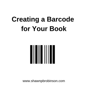 Creating a Barcode for your Book | Self Publishing on a Budget