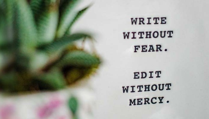 write your journal without fear