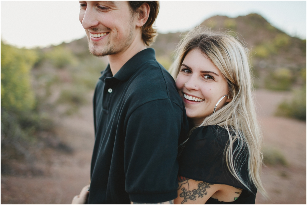 Scottsdale Wedding Photographer Engagement session at Papago Park