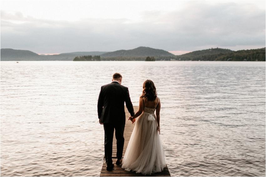 The Woods Inn Wedding Inlet ADK