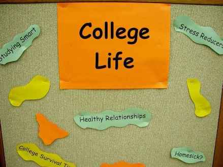 college life image