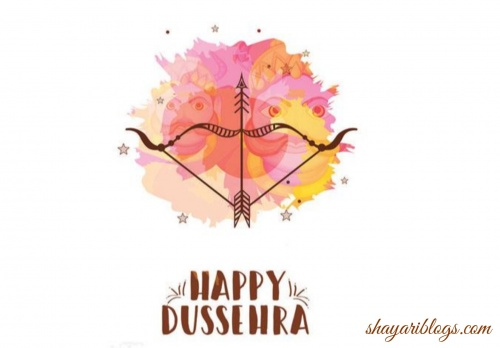 wallprat of Dussehra