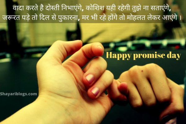 promise day 2020 shayari image