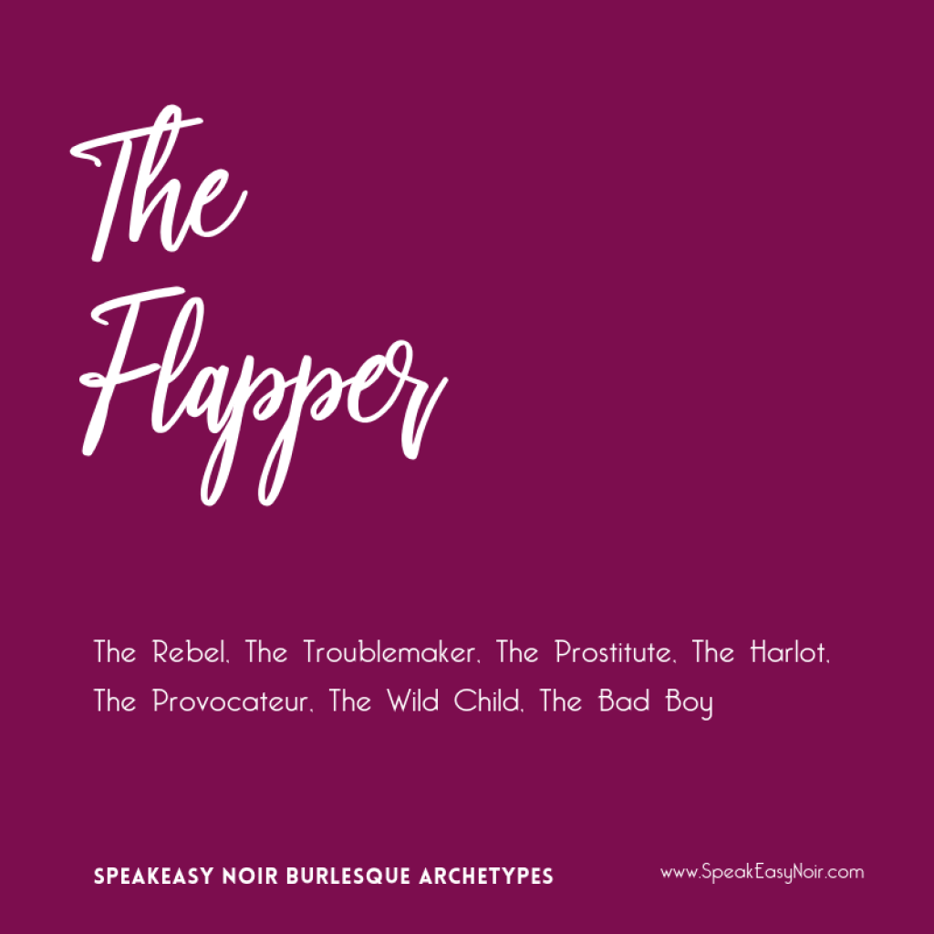 """The Flapper Burlesque Archetype"" - www.shayaulait.com"