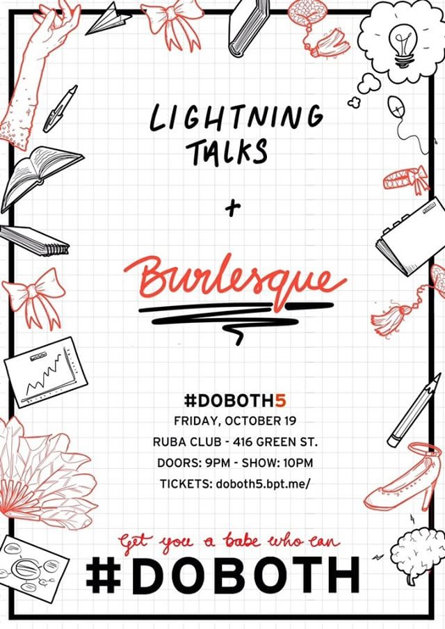 Lightning Talks and Burlesque - shayaulait.com