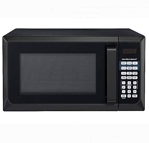 Hamilton Beach microwave oven 0.9 Cu. ft. Stainless Steel