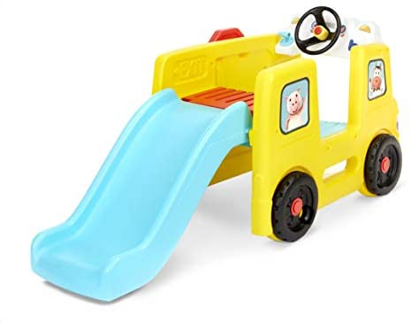 Little Baby Bum Wheels on The Bus Climber and Slide with Interactive Musical Dashboard