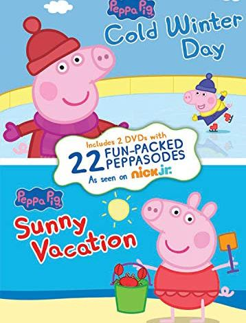 Peppa Pig: Cold Winter Day / Sunny Vacation