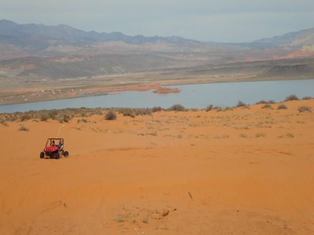 Sand Hollow dunes summer St George Utah