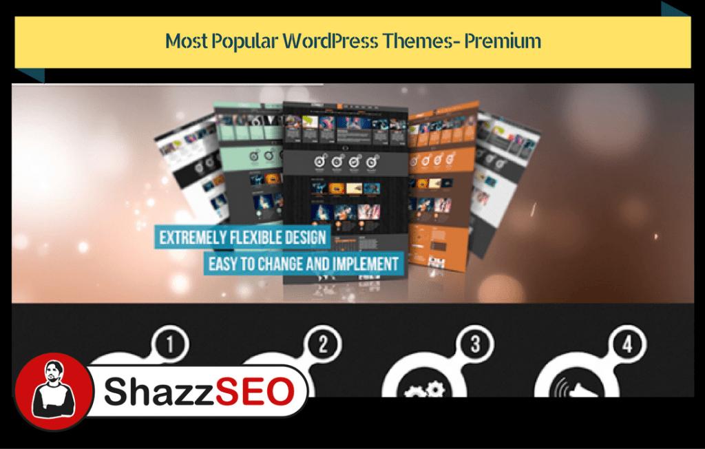 Most Popular WordPress Themes- Premium