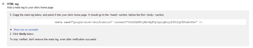 HTML Tag Verification
