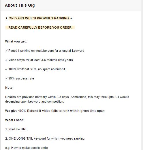 GiG Description