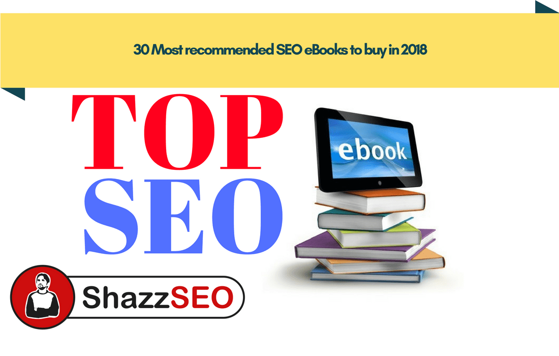 30 Most recommended SEO eBooks to buy in 2018