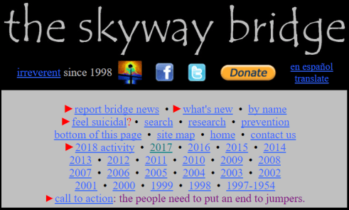 The sky bridge website