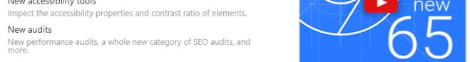 Chrome 65 SEO audit Report