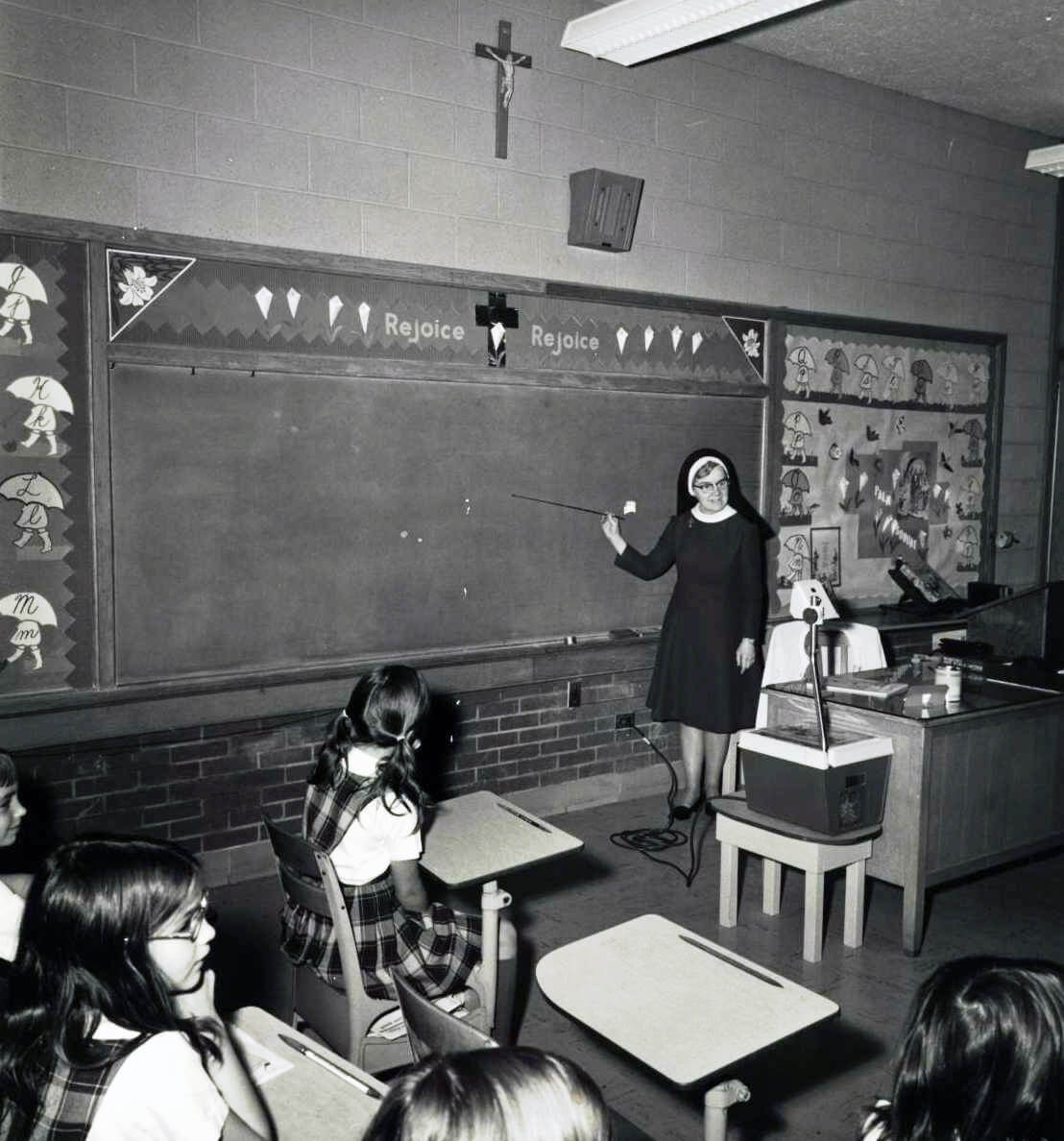 1960s Sacred Heart classroom