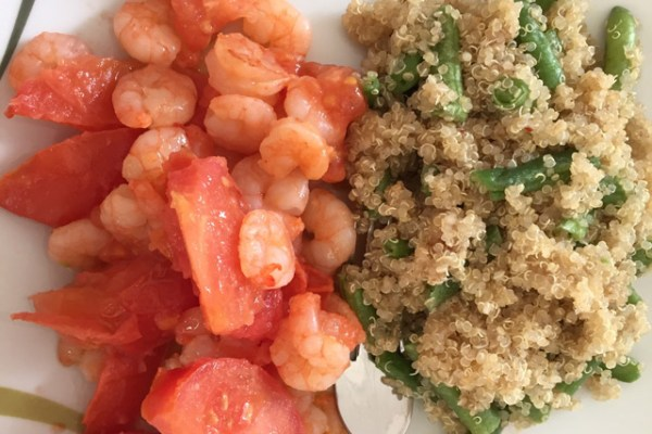 Shrimps_Quinoa