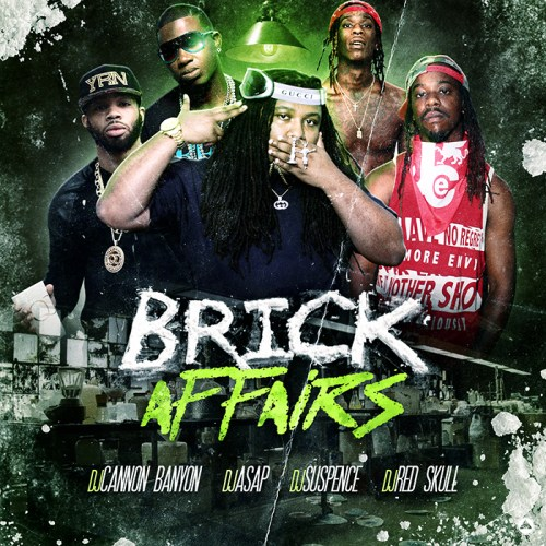Dj Red Skull Brick Affairs Front Cover