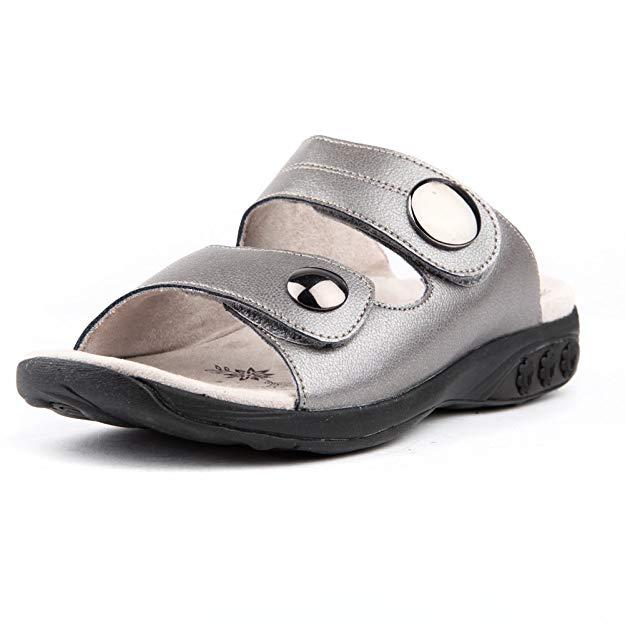 Adjustable Strap Slip on Sandal