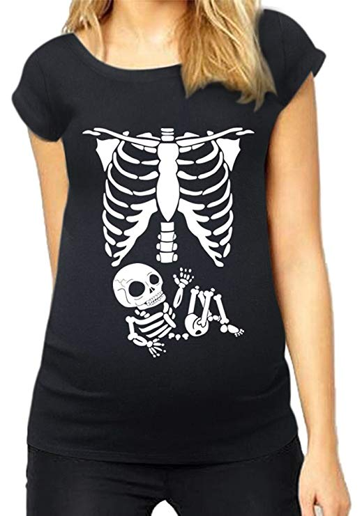 Funny Graphic Tee Cute Tops for Pregnancy