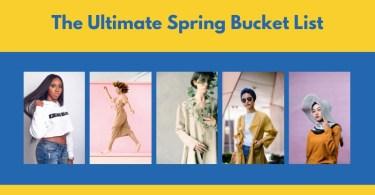 Spring-Bucket-List