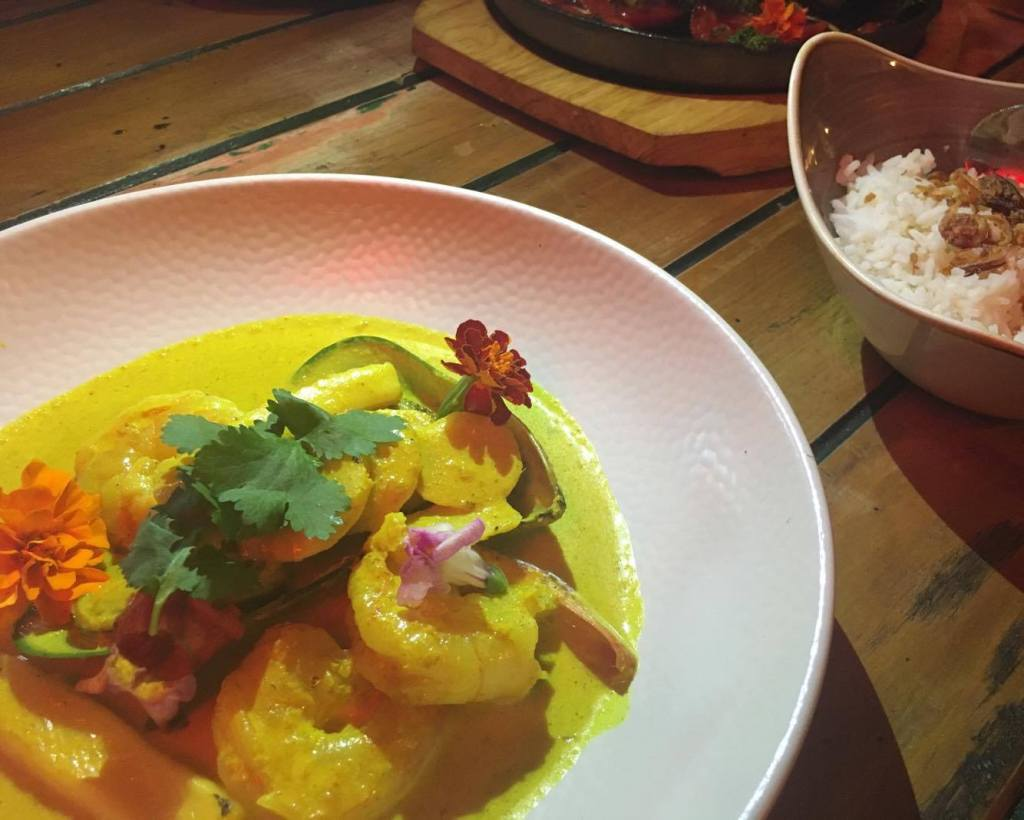 Coconut & Tumeric Seafood Curry