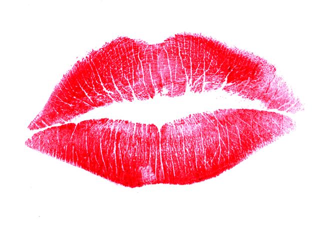 lipstick prints