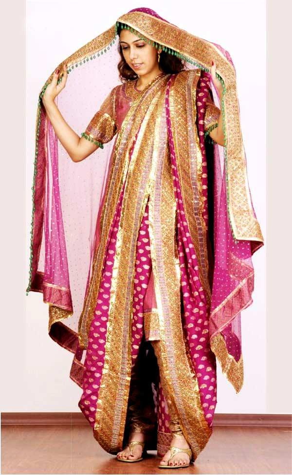 Beautiful Khada Dupatta Designs For Bridal Sheclick Com