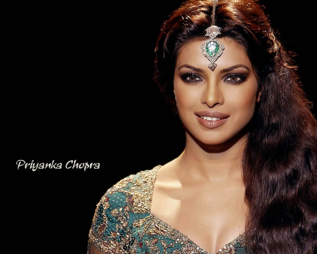 Priyanka Chopra Saree Hand Work