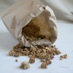 Tipped Paper Bag Spilling with Shelagh's Granola