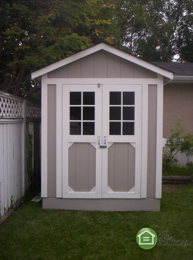 6 X 8 Garden Shed The Jasper Shed Solutions