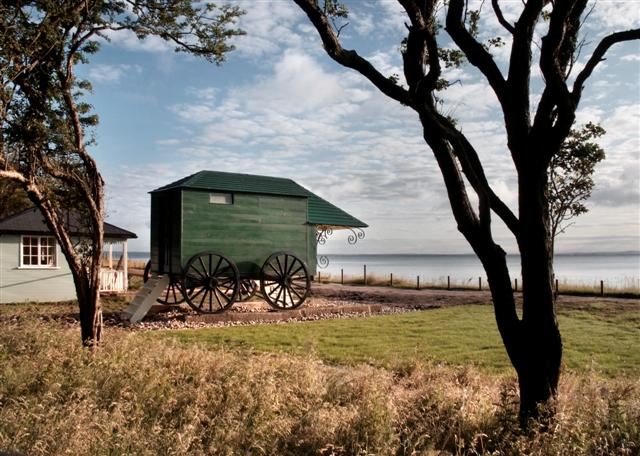 Even Queen Victoria loved her shed by the sea – also view a panoramic Scott's Antarctic Hut