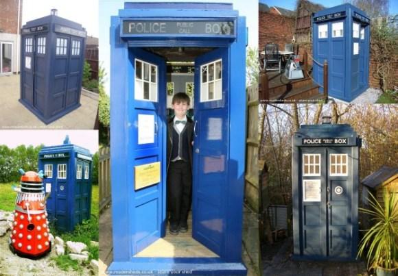 TARDIS sheds