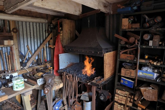 The Cowpe Smithy from Lancashire is a finalist in this year's annual 'Shed of The Year' competition sponsored by Cuprinol.