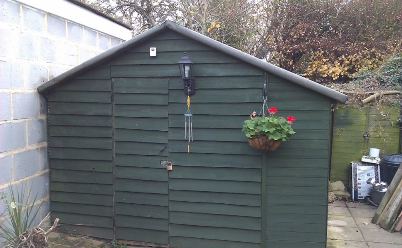 Guest post : A woolly hat for your shed