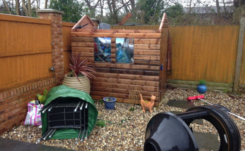 How #StormDoris had an effect on the #sheds of the UK