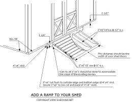 Shed Ramp PlansShed Plans | Shed Plans
