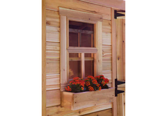 Outdoor Living Today 9X6 Cabana Garden Shed   Free Shipping on Outdoor Living Today Cabana id=90601