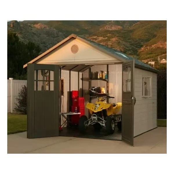 Lifetime 11x21 Ft Storage Garage Kit 60237