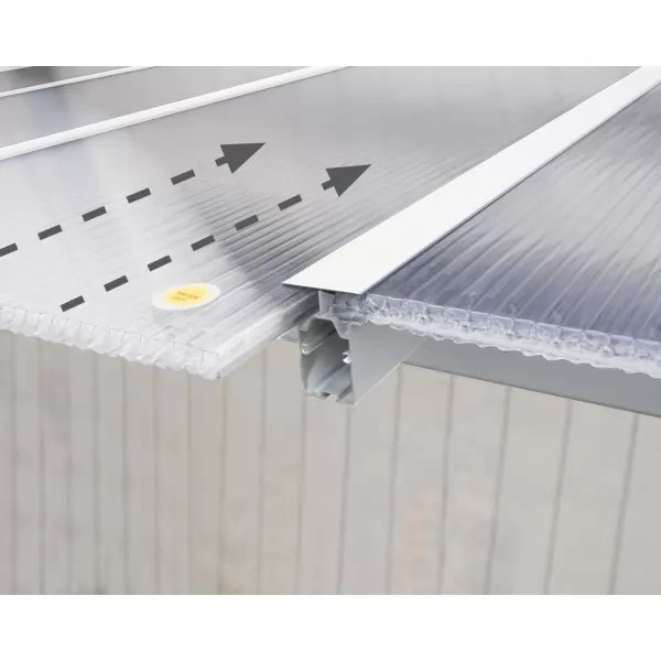 palram olympia 10x20 aluminum patio cover white hg8820w