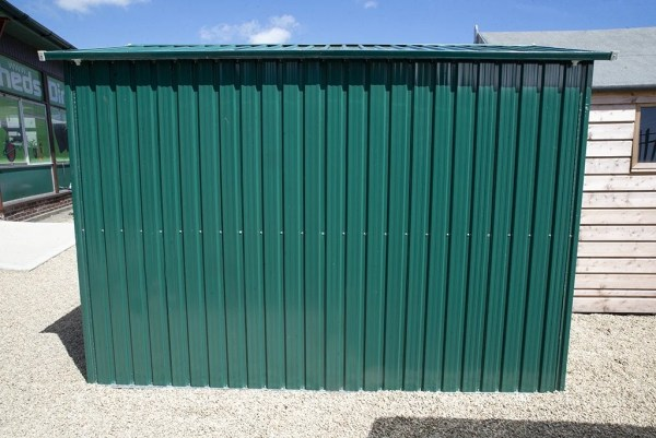 6ft x 9ft Steel Shed from Sheds Direct Ireland