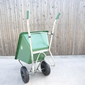Equestrian Barrow as seen from behind