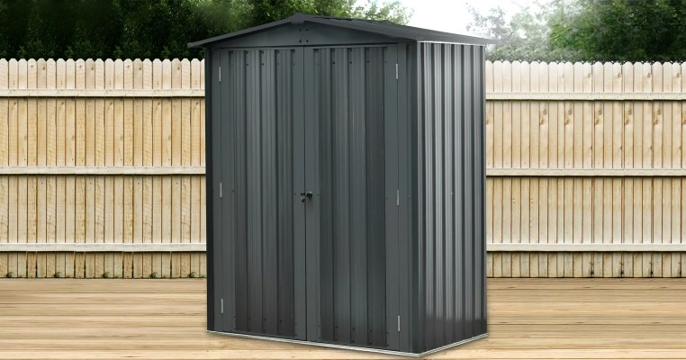 a Wider version of the Small Shed photo from Sheds Direct Ireland